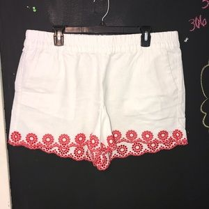J Crew Shorts with Accent Trim Size XL